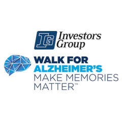 Logo of Investors Group Walk for Alzheimer's