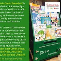 Little Green Bookshelf Volunteer For Success By 6 Powell River