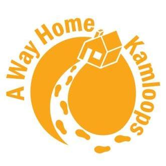 Logo of A Way Home Kamloops: youth homelessness