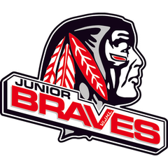Logo of Saanich Jr. Braves