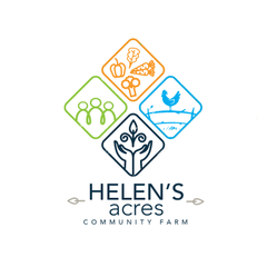 Logo of Helen's Acres Community Farm