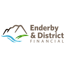 Logo of Enderby & District Financial, a division of First West CU