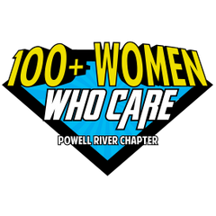 Logo of 100+ Women Who Care | Powell River