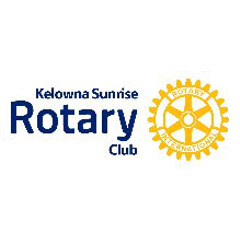 Logo of Kelowna Sunrise Rotary