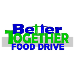 Logo of Better Together Food Drive