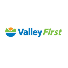Logo of Valley First, a division of First West Credit Union
