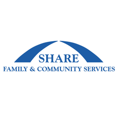 Logo of SHARE Family & Community Services