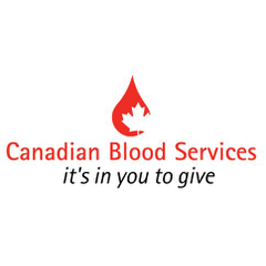 Logo of Canadian Blood Services - Hamilton, Halton and Toronto